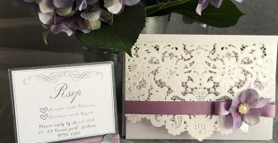 Lilac and Grey Wedding Theme