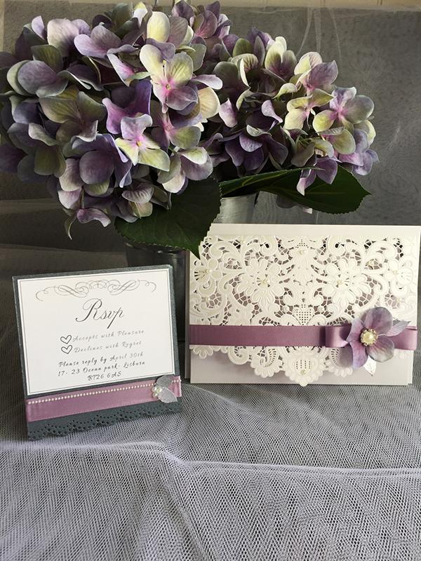 Wedding Invitations, Stationary & Decor
