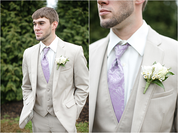 Groom and Groomsmen-Lilac and Grey