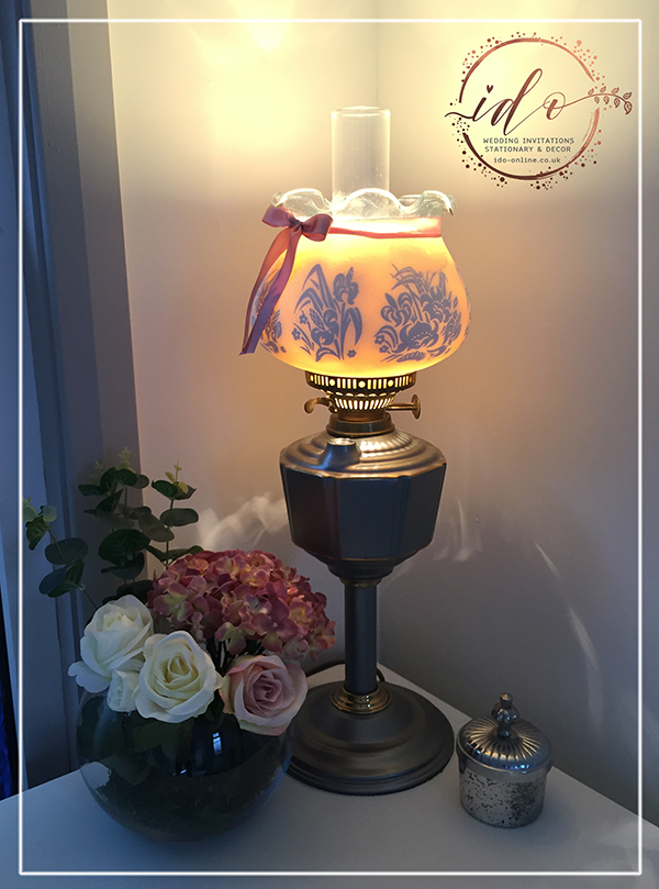Upcycled Vintage Lamp