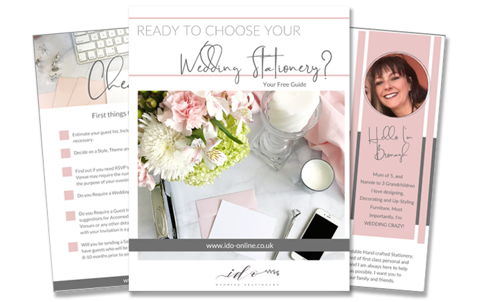 Tips and advice for ordrtring your Wedding Stationery
