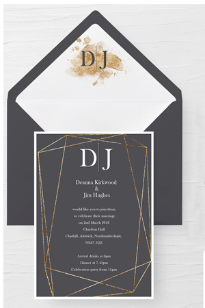 Deanna Wedding Invitation