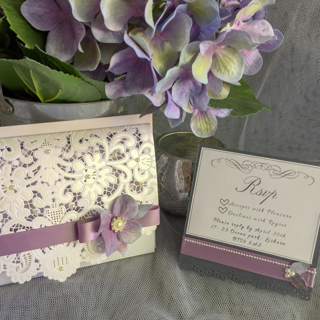 Catherine Wedding Invitation Suite