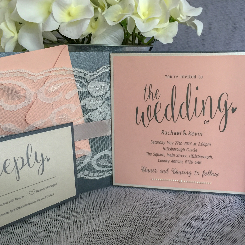 Claire Wedding Invitation Suite