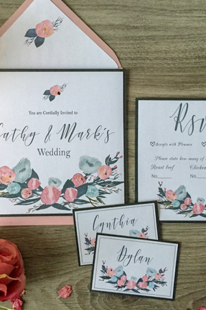 Cathy Wedding Invitation
