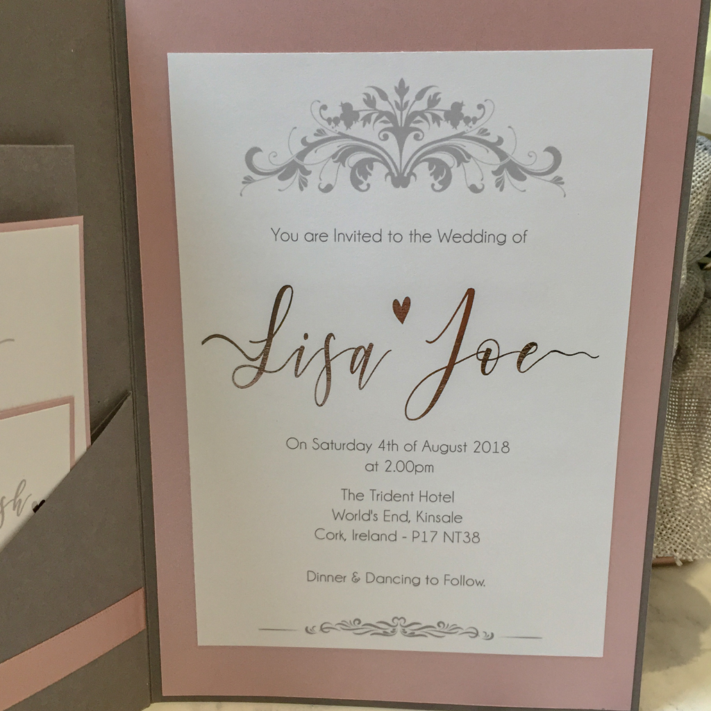 Lisa Wedding Invitation Suite