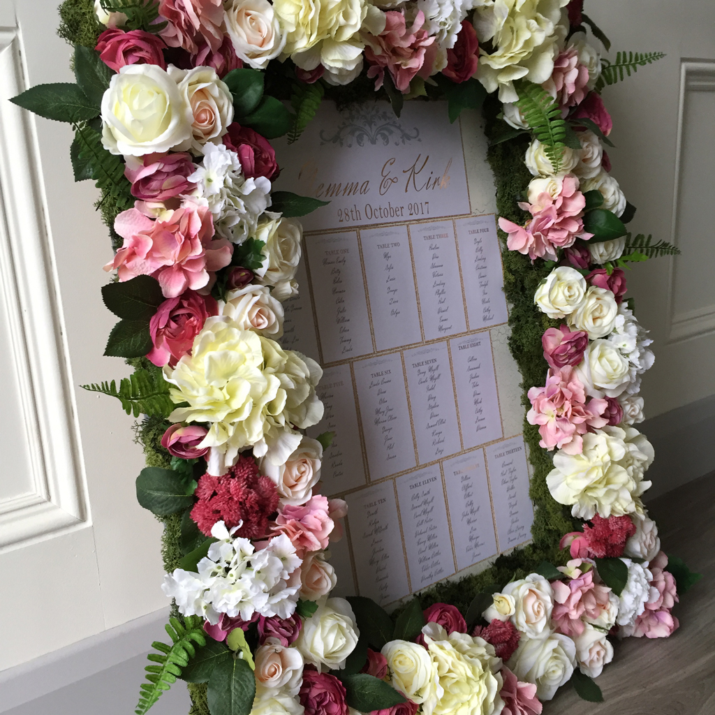Gemma Wedding Table Plan