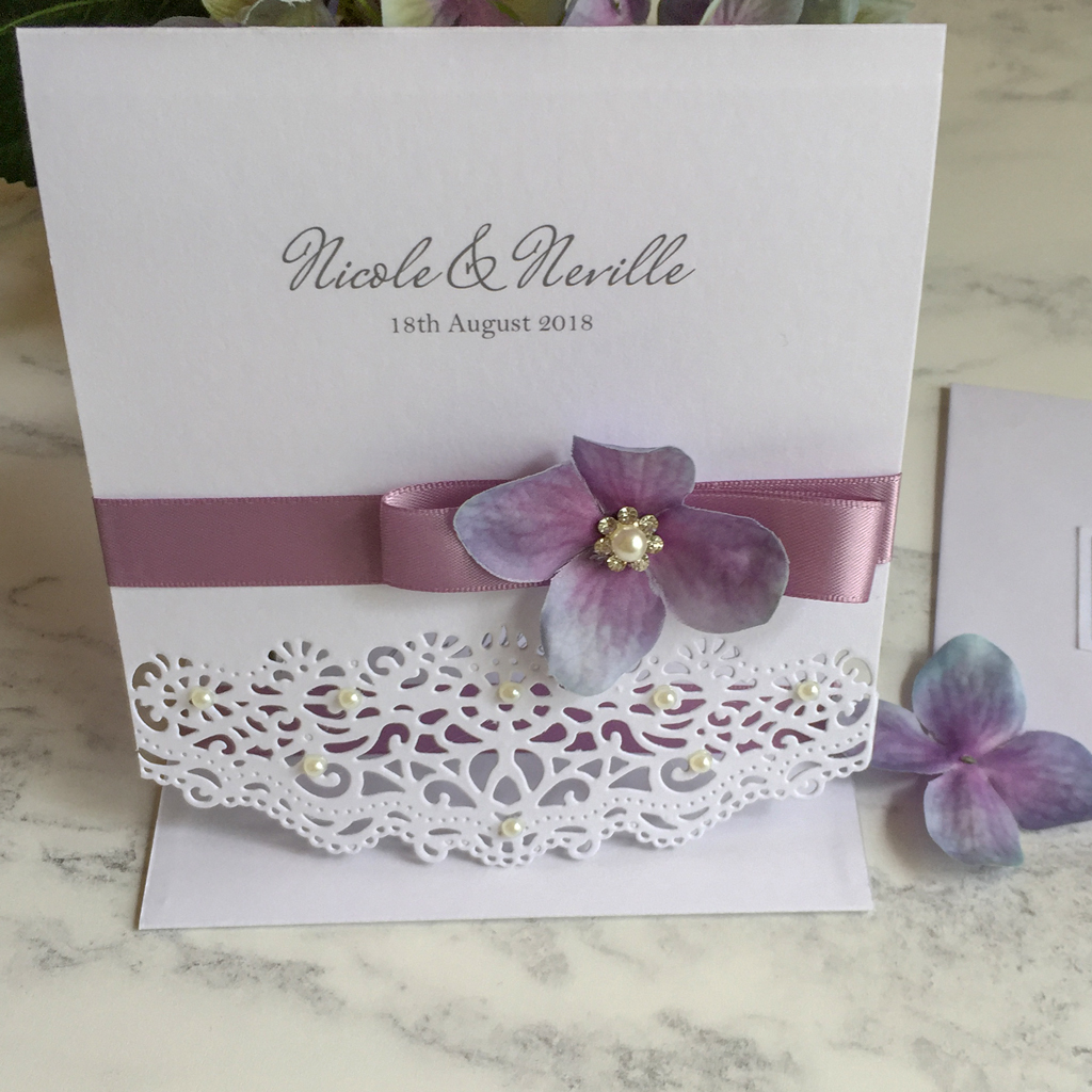 Nicole Wedding Invitation Suite