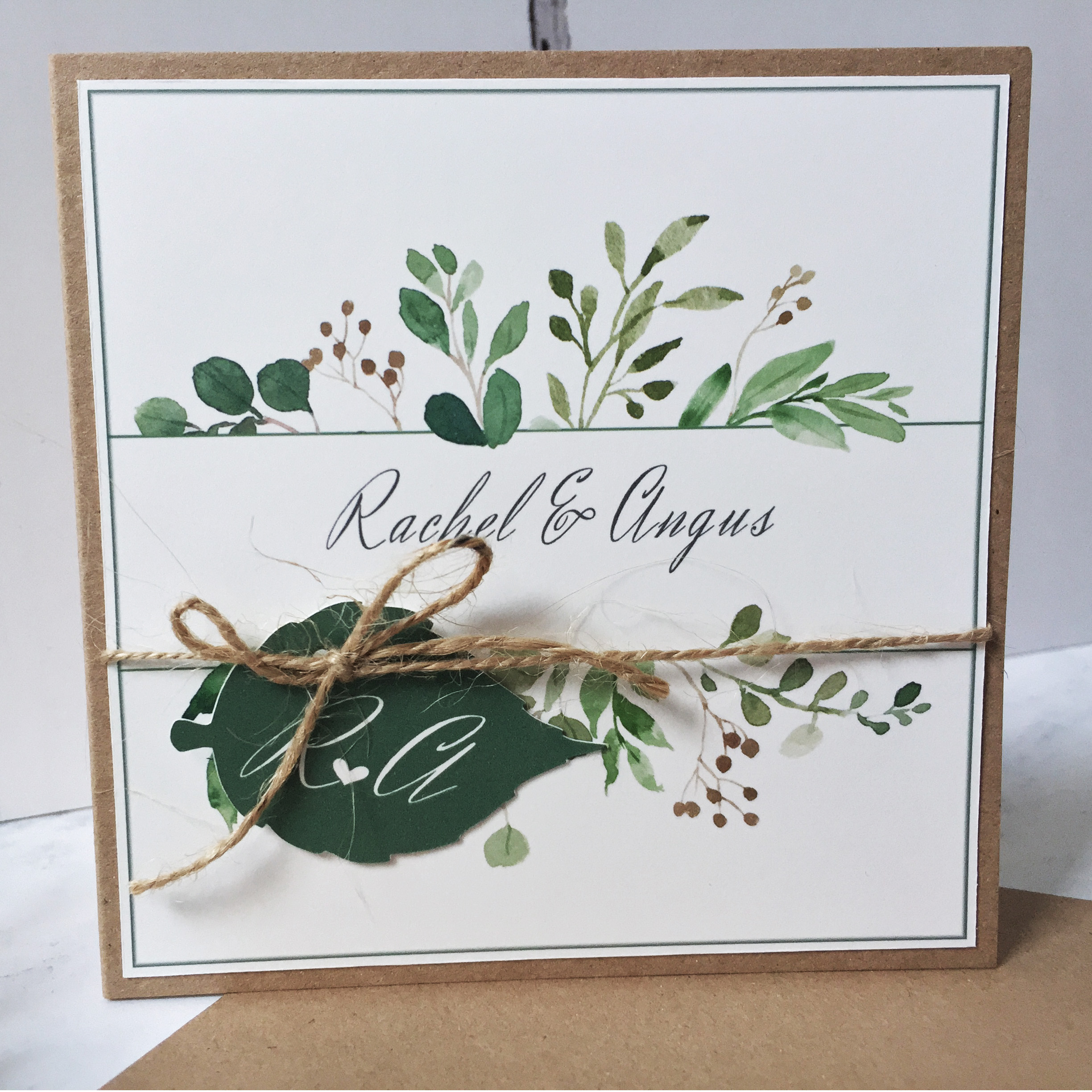 Rachael Wedding Invitation Suite