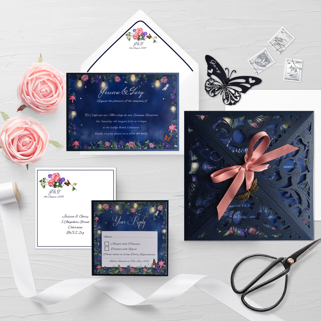 Jessica Wedding Invitation Suite