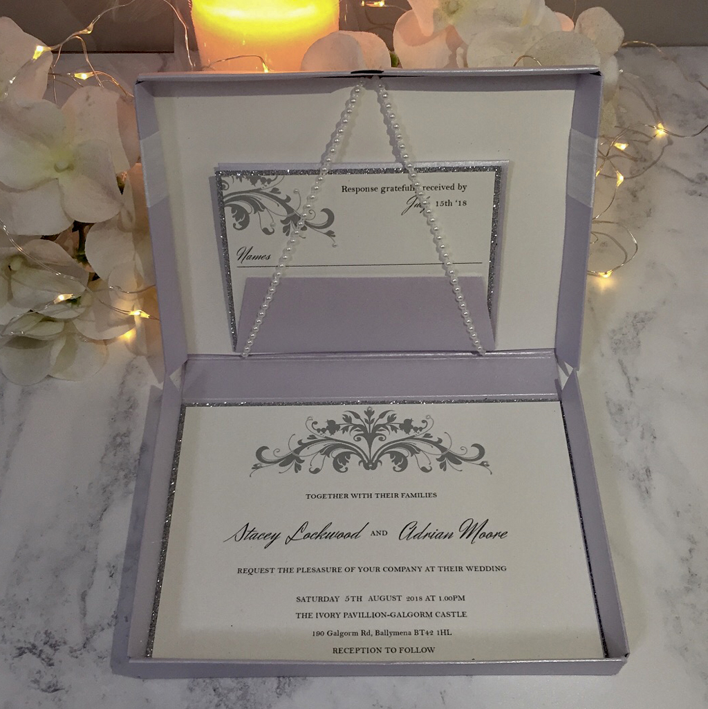Stacy Wedding Invitation Suite