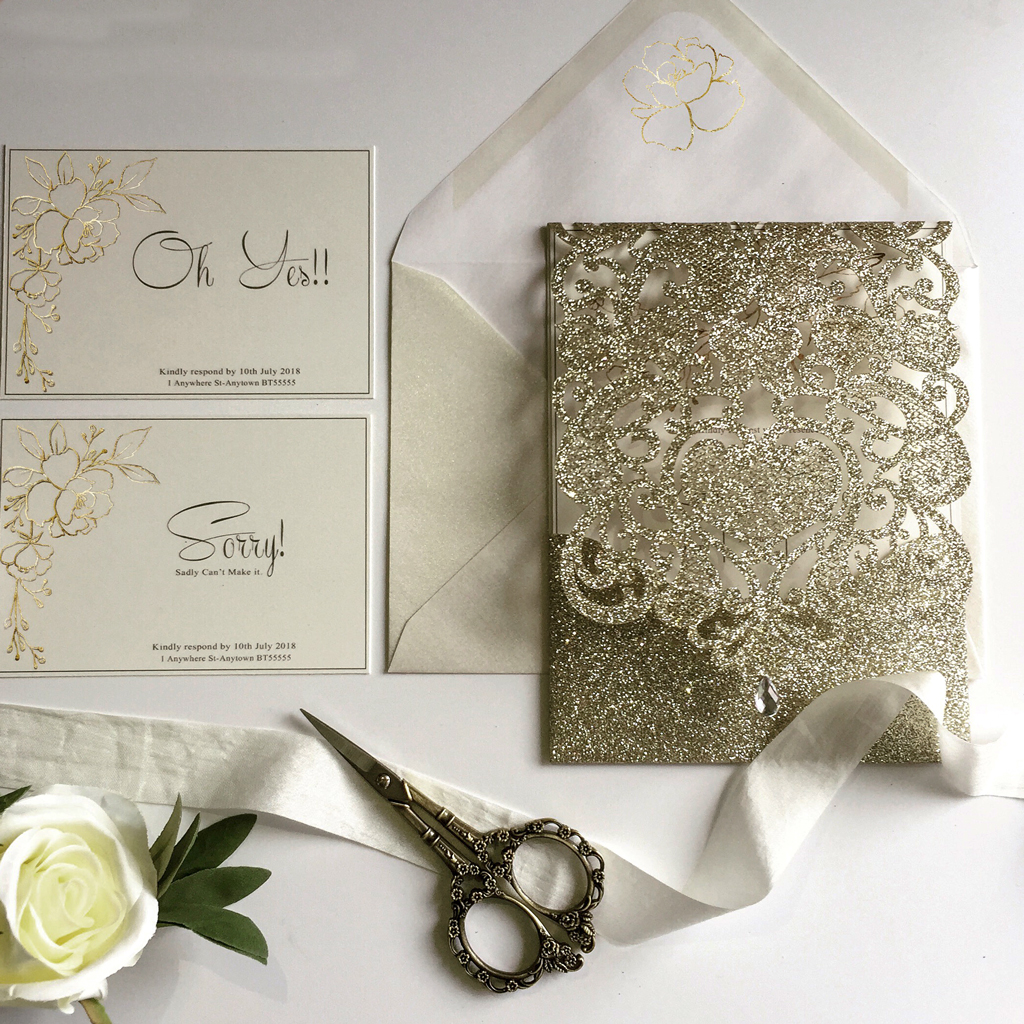 Karen Wedding Invitation Suit