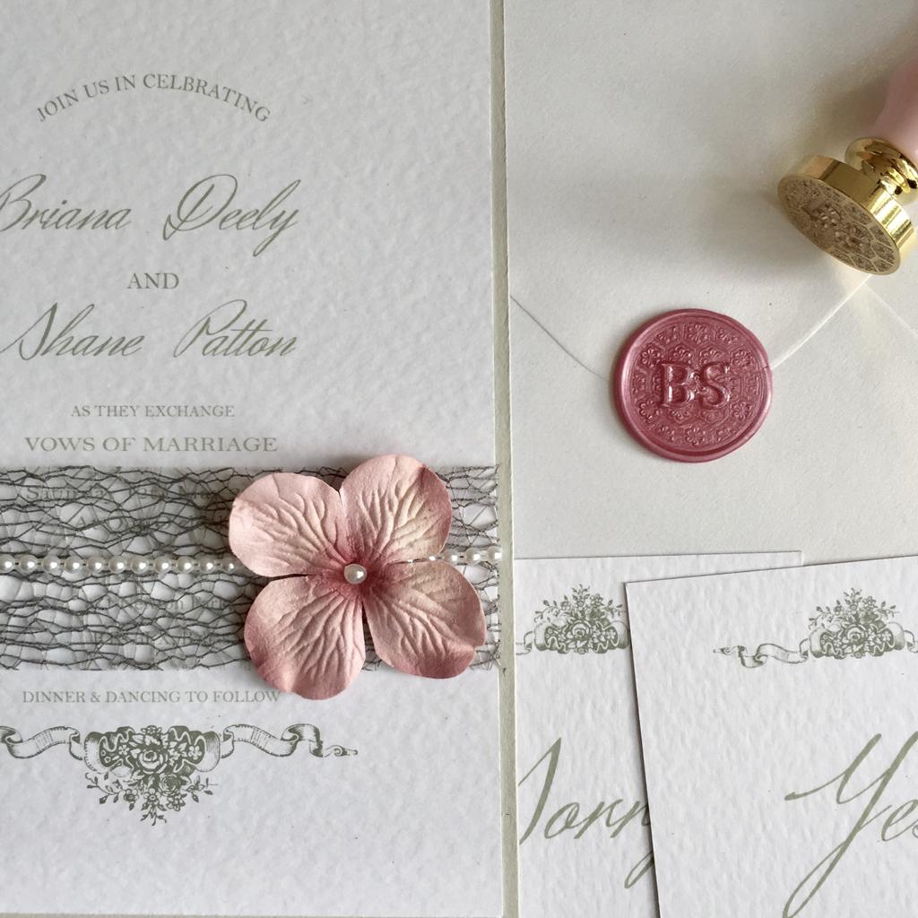 Brianna Wedding Invitation Suite