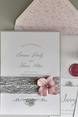 Brianna Wedding Invitation