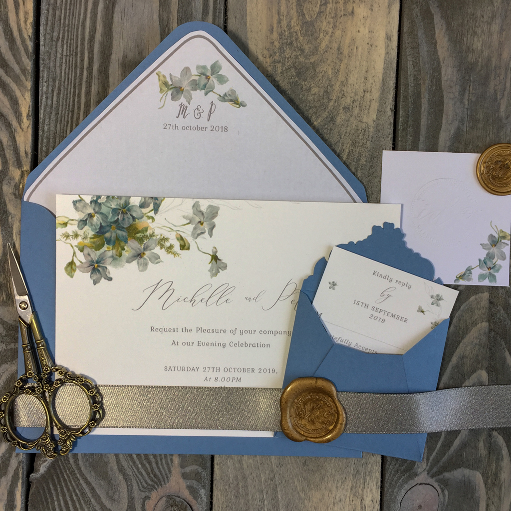 Michelle Wedding Invitation Suite