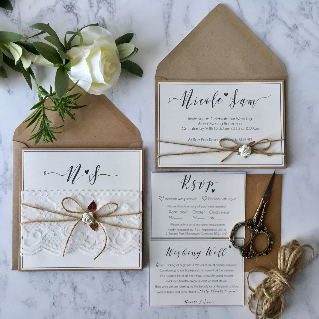 Sam Wedding Invitation Suite