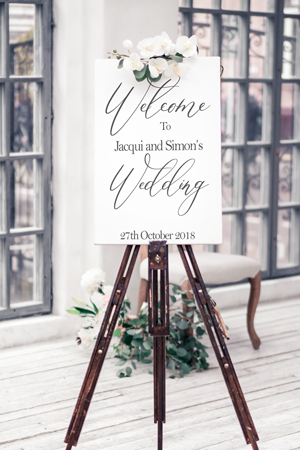Personalised Wedding Decor Items