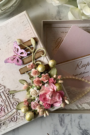 Carole Wedding Invitation Box