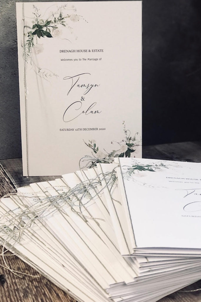 Foliage Order Of Service