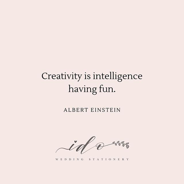 So Albert Einstein says