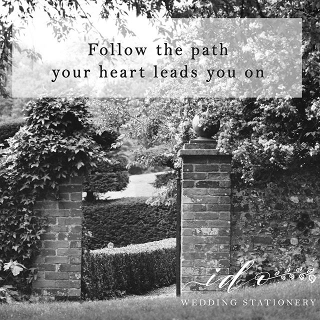 Your heart is usually right # gettingmarried