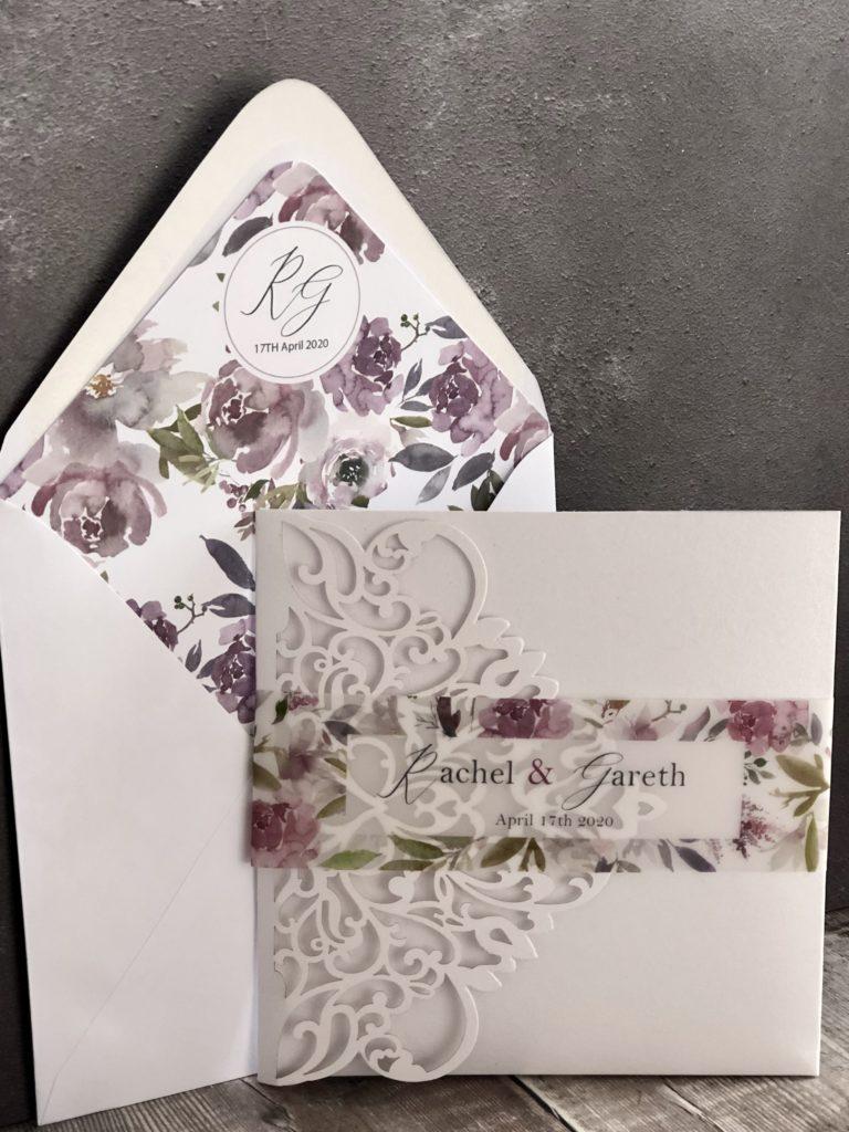 Maeve Floral Wedding Invitation Suite