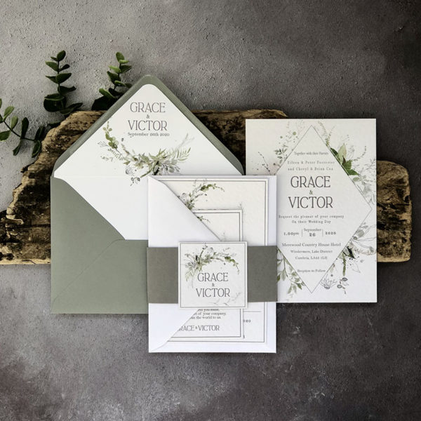 Viridis Wedding Invitation
