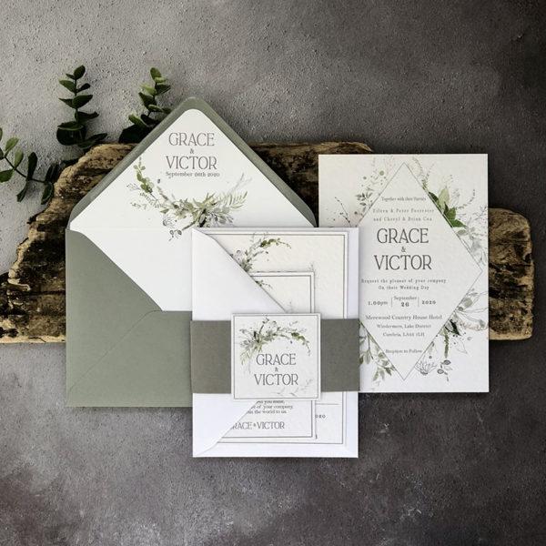 Viridis Wedding Invitation